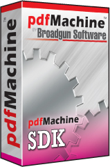 pdfMachine SDK box